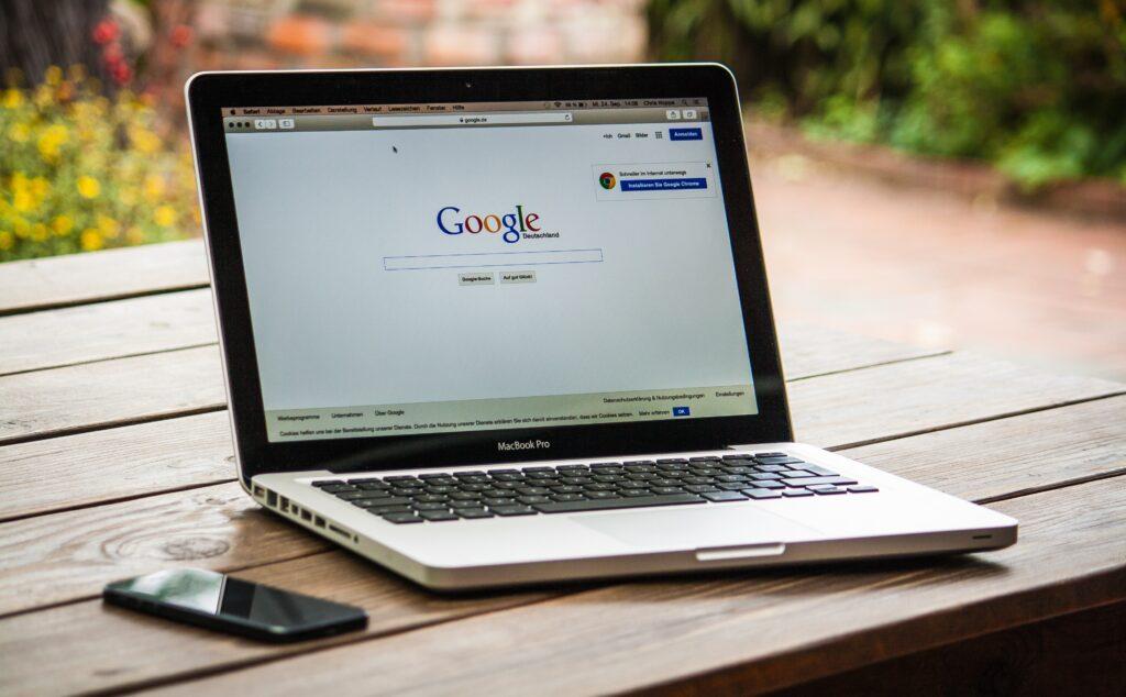 Bliv fundet på Google